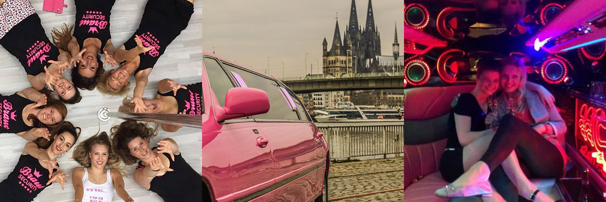 JGA Köln – Poledance Kurs und Limousine