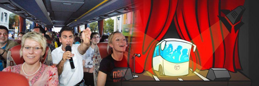 JGA Köln: Comedy-Bus Tour mit Abendessen im Brauhaus